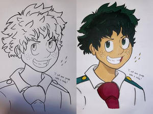 Deku - Save with a Smile