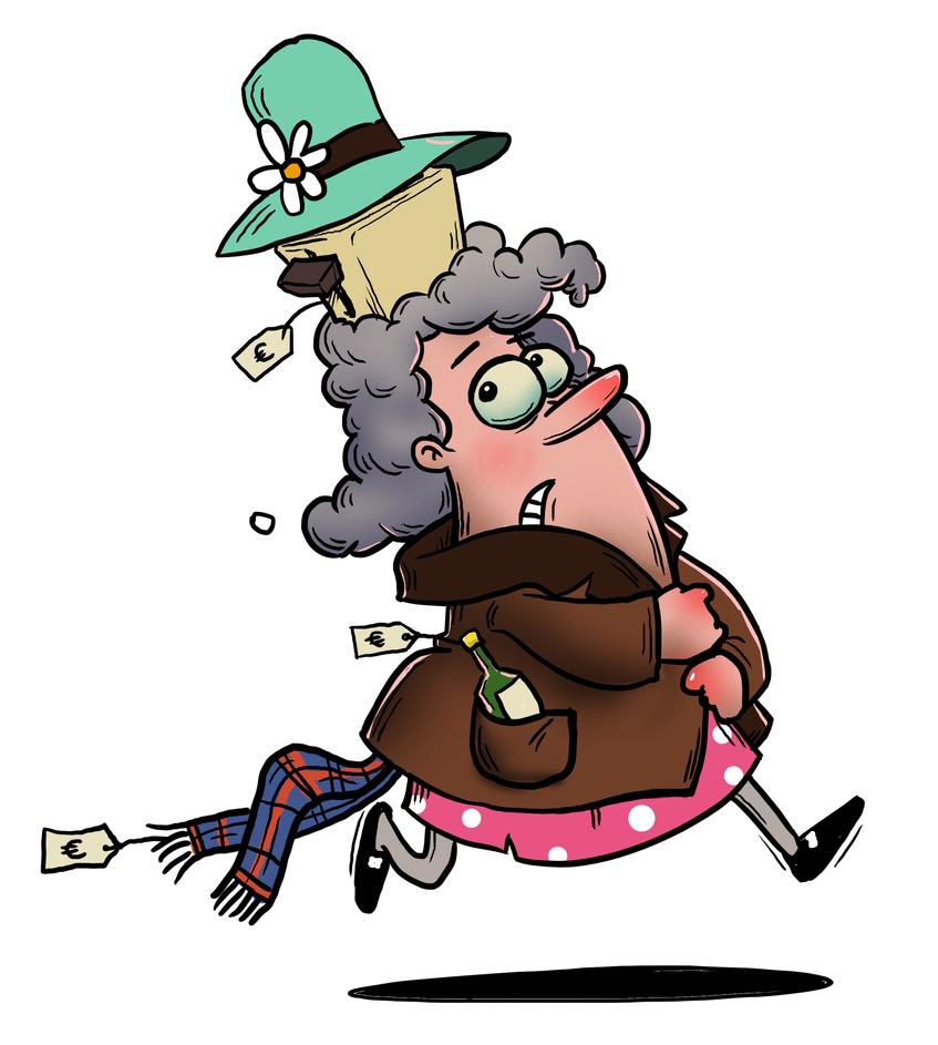 shoplifter by budilnik