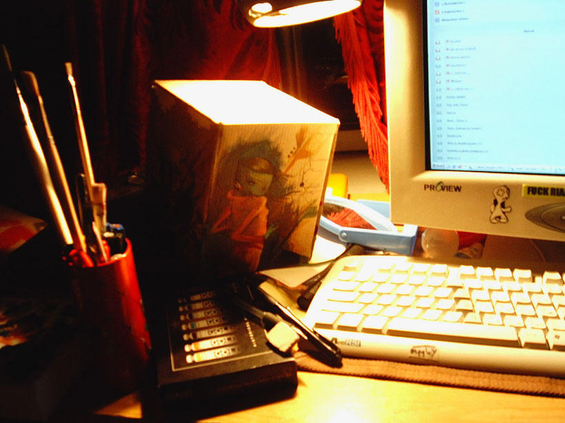 just my desktop by budilnik