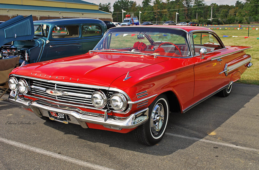 1960 red chevy impala by e davila photography on deviantart. Cars Review. Best American Auto & Cars Review