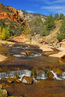 Slide Rock Creek II by E-Davila-Photography