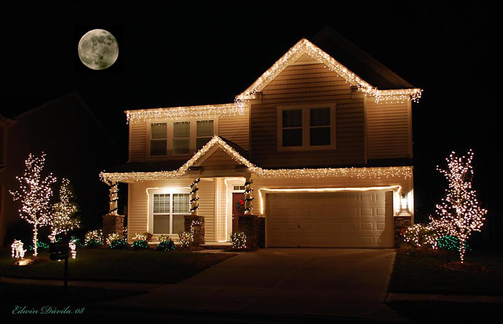 Casas navide as ree lendas taringa - Casas decoradas en navidad ...