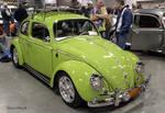 Lime VW beetle