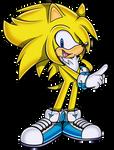Soleon the Hedgehog (No Background)
