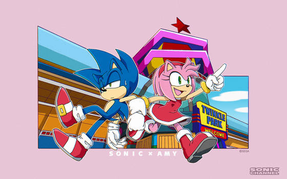 Sonic Channel: Sonic and Amy