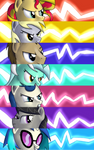 Pony Fire Emblem Criticals - Background 6 + Sunset