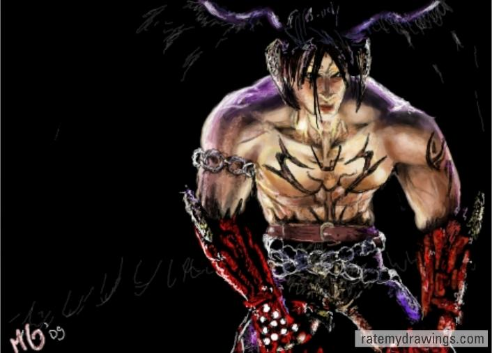 Tekken 5 Devil Jin By Candycolours On Deviantart