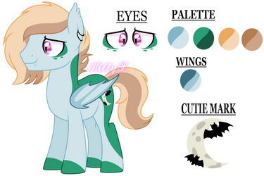 .: Reference Thomas :. - Bat Pony - by KittyPaintYT