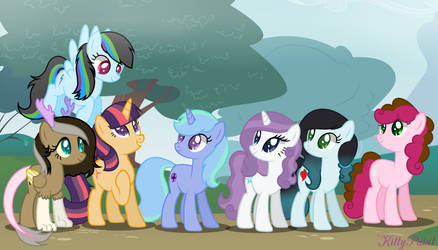 .: REQUEST :. (Mane 7) Next Gen - MagicUniClaws by KittyPaint08
