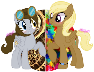 .: ART TRADE :. - MagicUniClaws by KittyPaint08