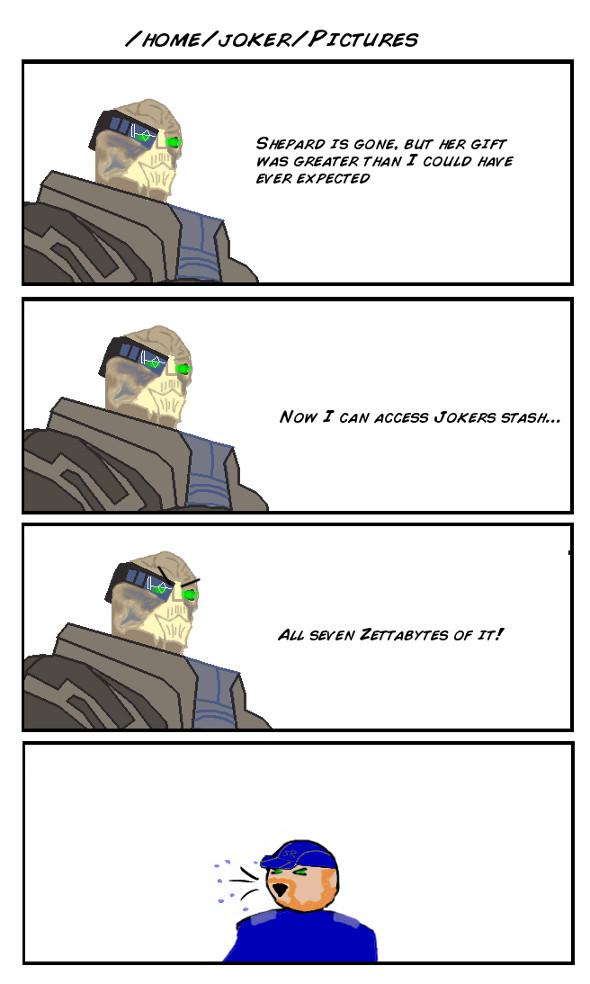 After Mass Effect 3: Garrus by DeusIX