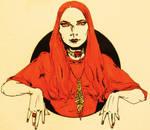ASOIAF / Melisandre sketch II