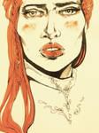 ASOIAF / Sansa sketch II