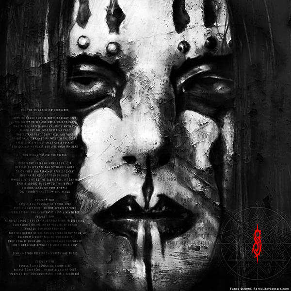 Slipknot Wallpaper BW by F4rn4 on DeviantArt