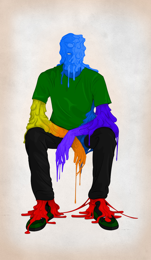 Man Melt by AndrewStrauss