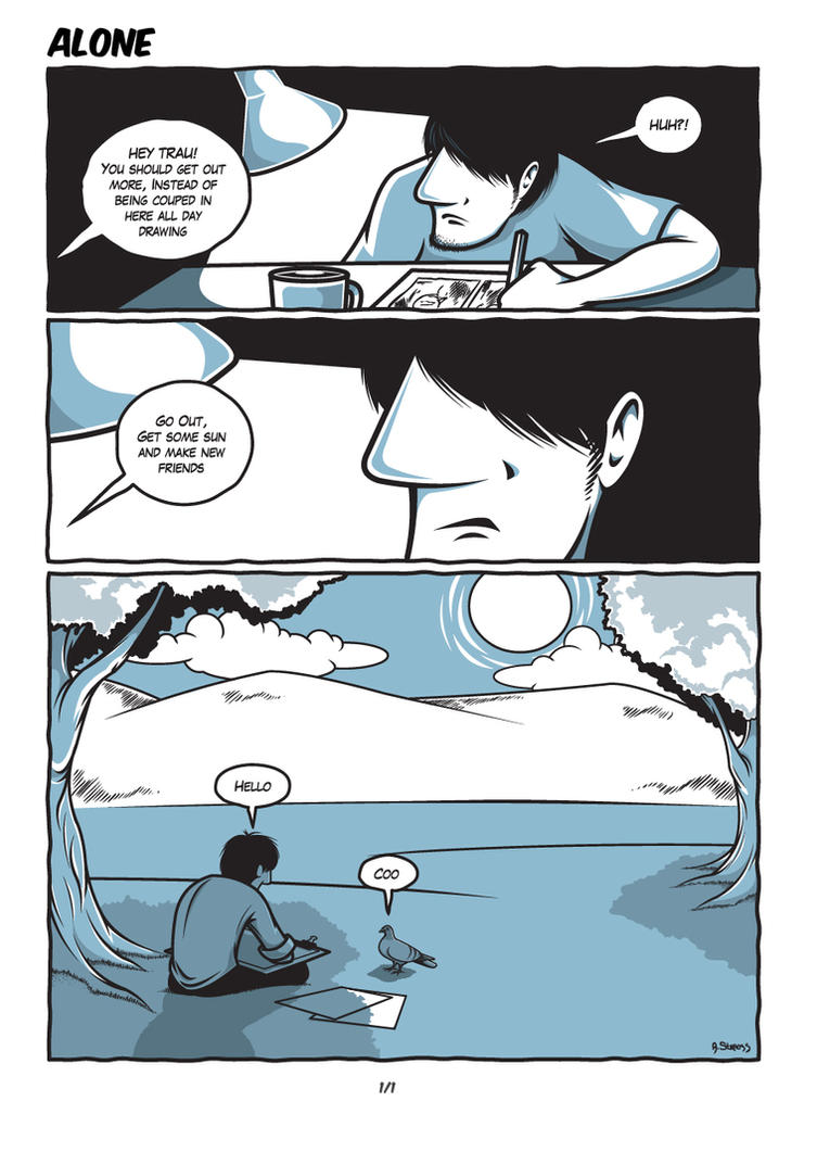 Trau: Alone by AndrewStrauss