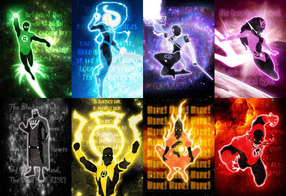 All lantern corps leaders