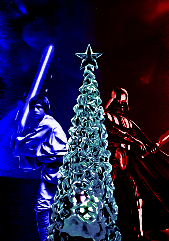 Have yourself a Merry Star Wars Christmas by M0rden