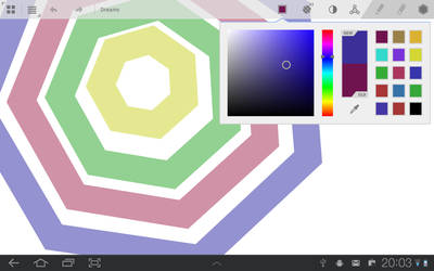 PaintApp Screenshot: Paint-mode by Syrligt