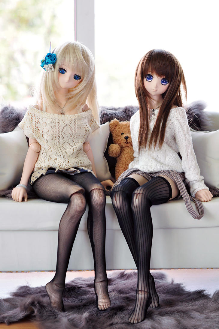Haruna and Sasara by MrMVP