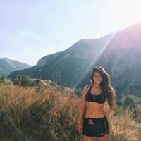 Joann moutain hiking/Sexy midriff by LozX100