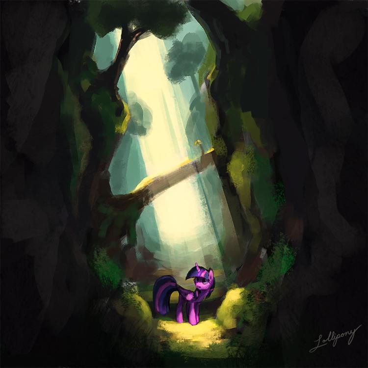 A Lone Adventurer