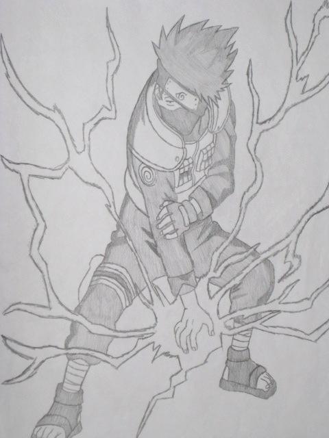 kakashi s lightning blade by ffsgunslingervincent