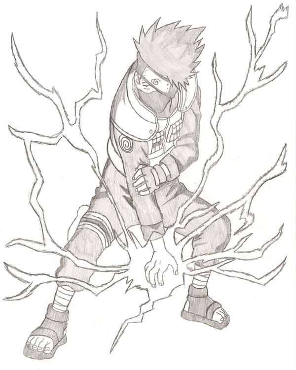 Kakashi Hatake Lightning Blade by FFsGunslingerVincent on ...