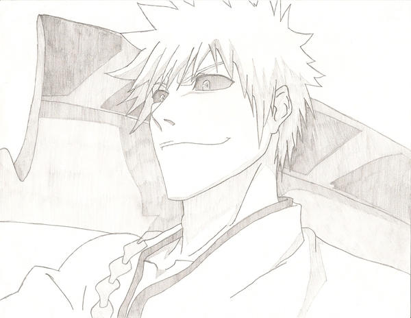 Bleach Hichigo Drawing By FFsGunslingerVincent