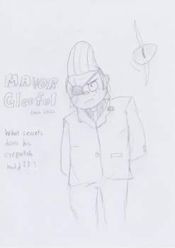 Mayor Gleeful