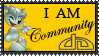 I AM Community stamp by UniqueNudes
