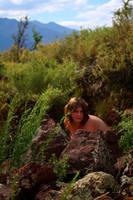 Wild nude model by UniqueNudes