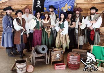 High Desert Pirate Promo '15 by UniqueNudes