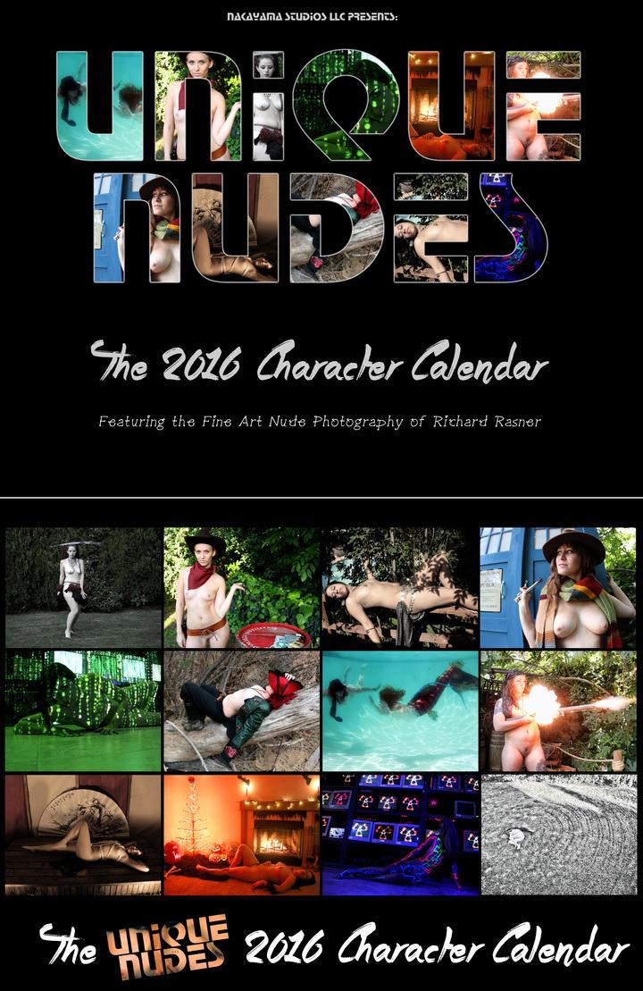 The 2016 Unique Nudes Character Calendar by UniqueNudes