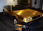 24k Gold Plated DeLorean