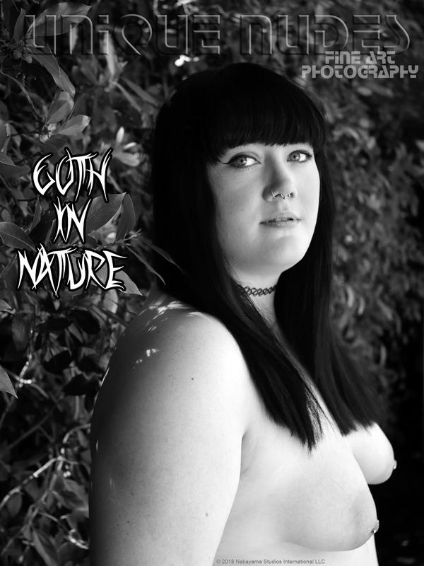 Goth in Nature: downloadable by UniqueNudes