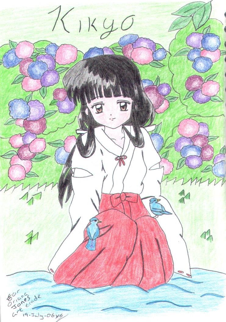 Kikyo by littlemissanime