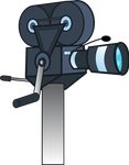 Old hand-crank camcorder (MLP style)