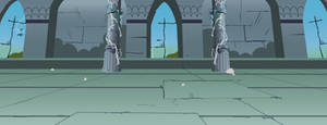 MLP Ancient Castle Throneroom / Chamber