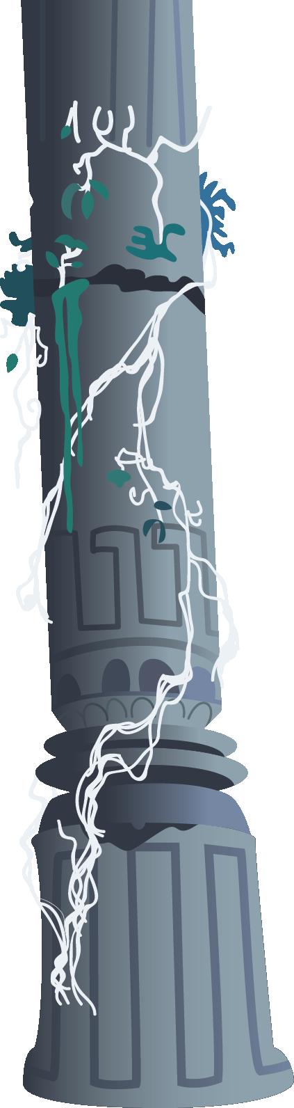 MLP Ruined Pillar by Evilbob0