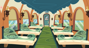 MLP Train car Background 2