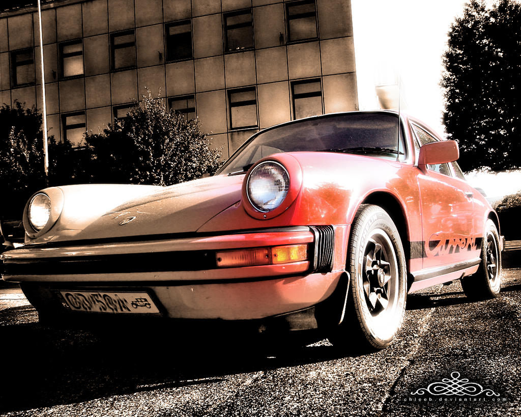 red porshe carrera by ~chleeb on deviantART