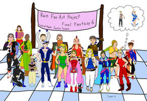 Rain cosplay full cast