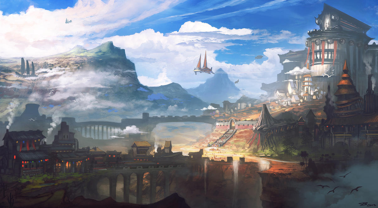Sky Kingdom by whatzitoya
