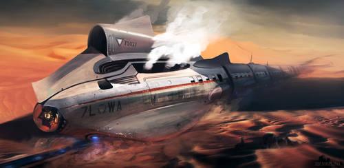 Desert Shark Bullet Train
