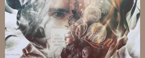 The queen of your heart signature by Paulysa