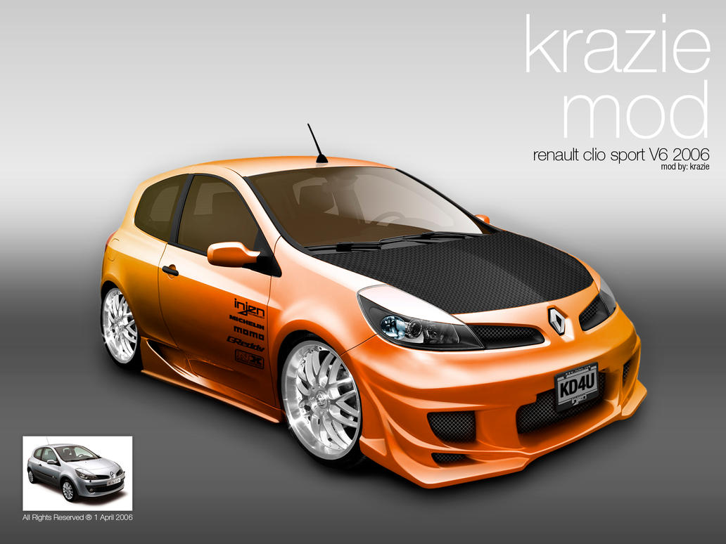 2006 renault clio iii renault sport related infomation. Black Bedroom Furniture Sets. Home Design Ideas