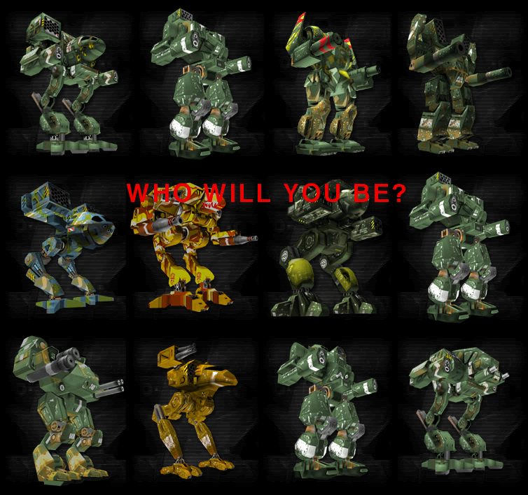 Mech warrior 4 who will you be by Neox666