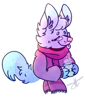 Sweater Weather YCH #1 by SQUISH-DEMON