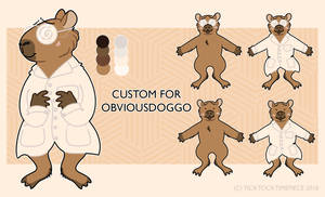 Custom for ObviousDoggo! (TRADE) by SQUISH-DEMON